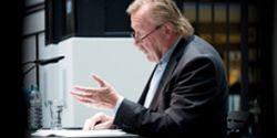 Prof. Dr. Sloterdijk, Foto Felix Gruenschloss