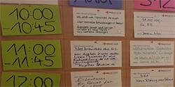 Die Sessionplanung im vhs barcamp_foto_StefanieDabrowski