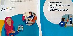 Cover der Handreichung A1-Deutschkurs