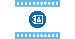 Icon für Hilfefilme