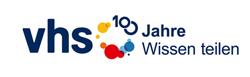 """Logo """"100 Jahre vhs"""""""