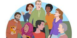 Abbildung von Figuren des A1-Deutschkurses,Foto: DVV
